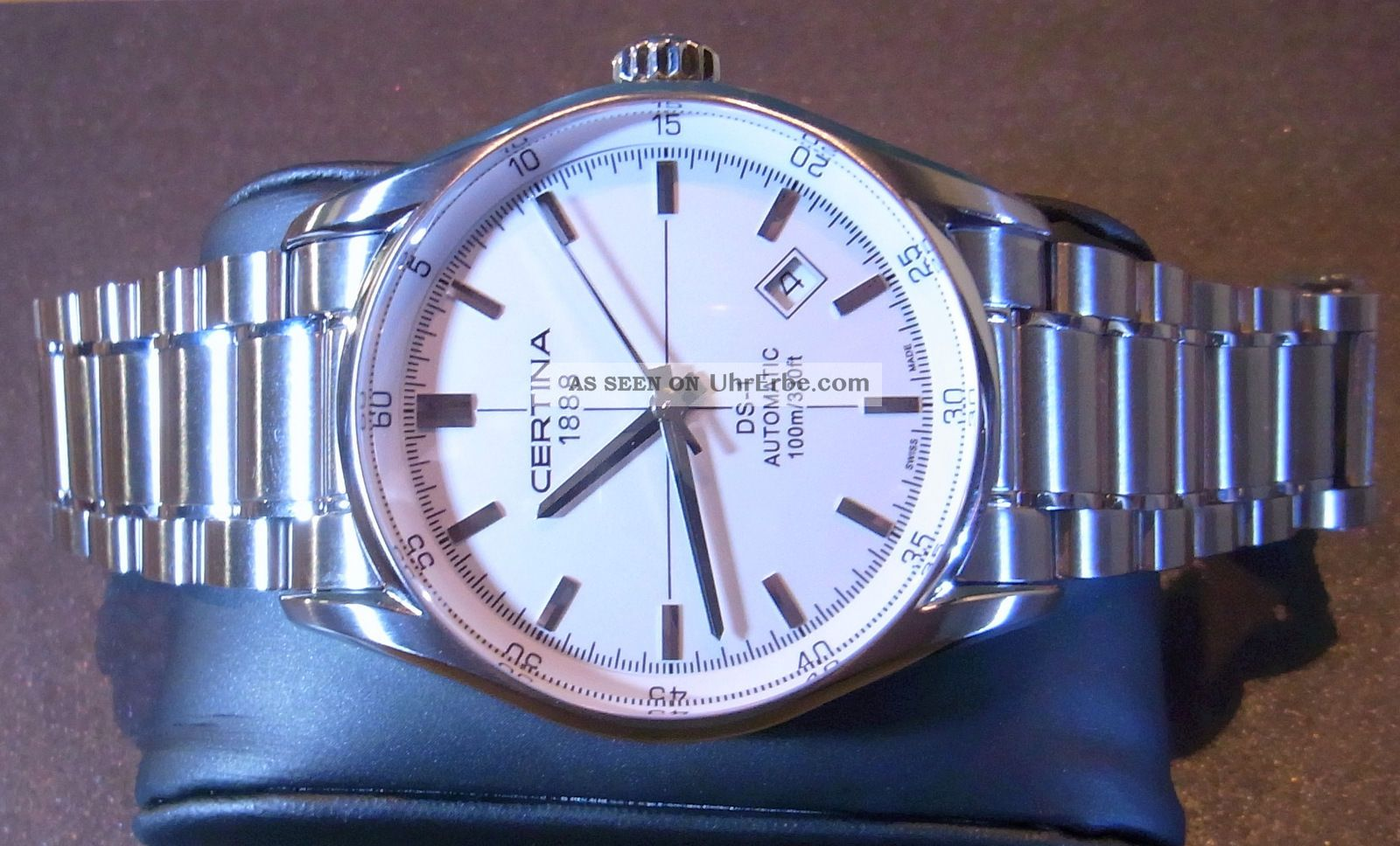 Certina Ds - 1 Automatik Uhr 1 Tag Alt Absolut Neuwertiger Eta 2824 - 2 Armbanduhren Bild