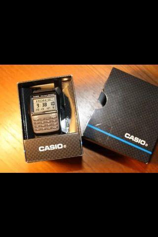 Casio Uhr Mit Taschenrechner,  Ovp Bild