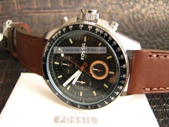 Fossil Herrenuhr Chronograph Decker Ch2885 Armbanduhren Bild