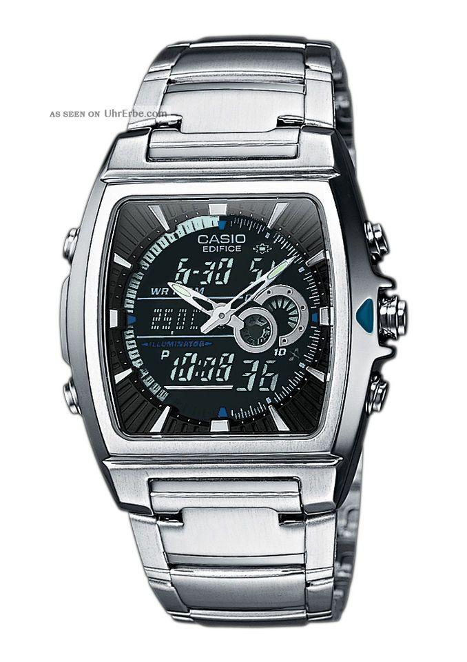 Casio Edifice Efa - 120d - 1avef Armbanduhr Für Herren Armbanduhren Bild