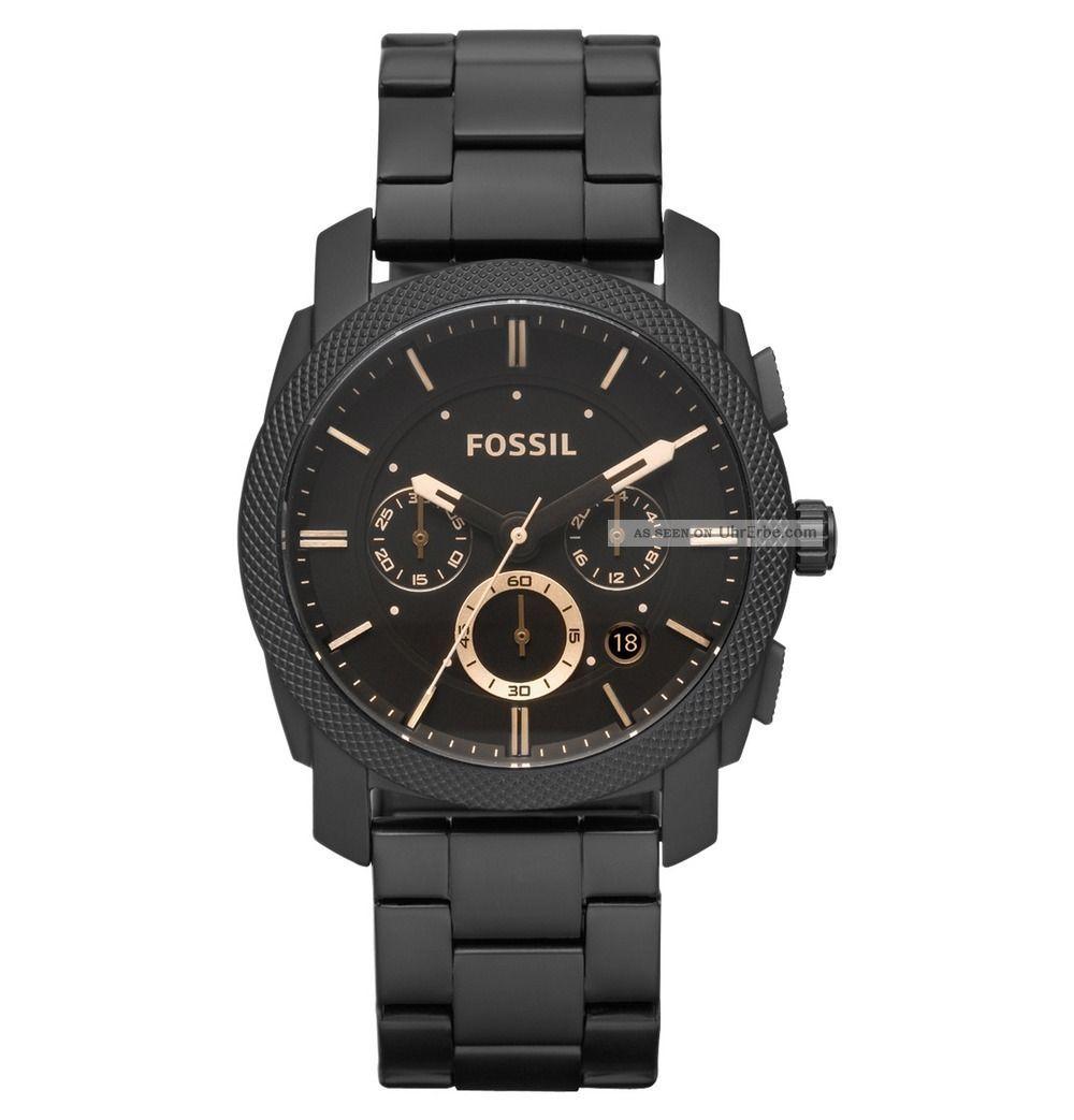 Fossil Machine Armbanduhr Für Herren (fs4682) Armbanduhren Bild