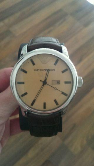 Emporio Armani Classic Ar0429 Armbanduhr Für Herren Bild