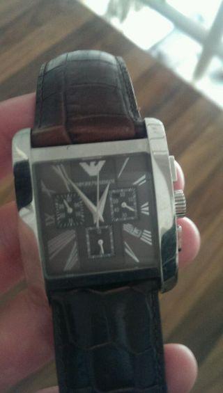 Emporio Armani Classic Ar0185 Armbanduhr Für Herren Bild