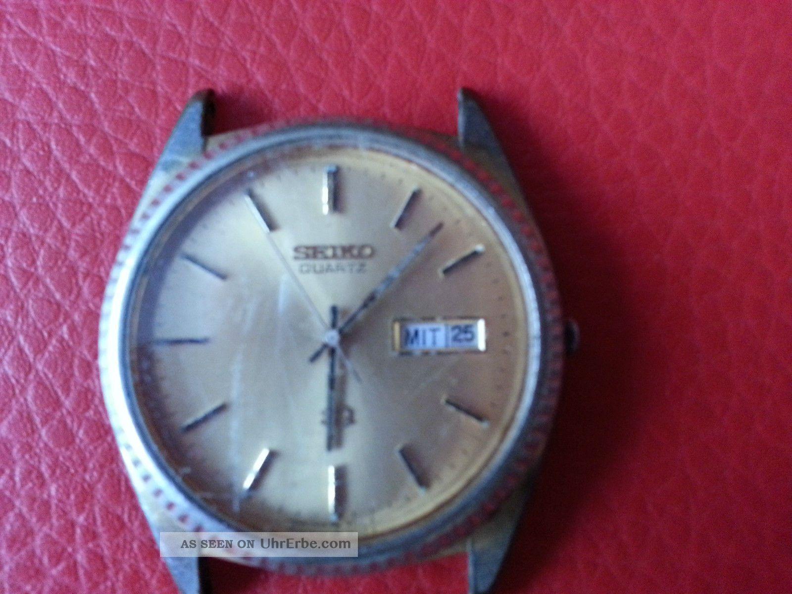 Alte Seiko Armbanduhr Armbanduhren Bild