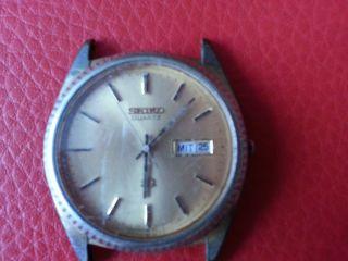Alte Seiko Armbanduhr Bild