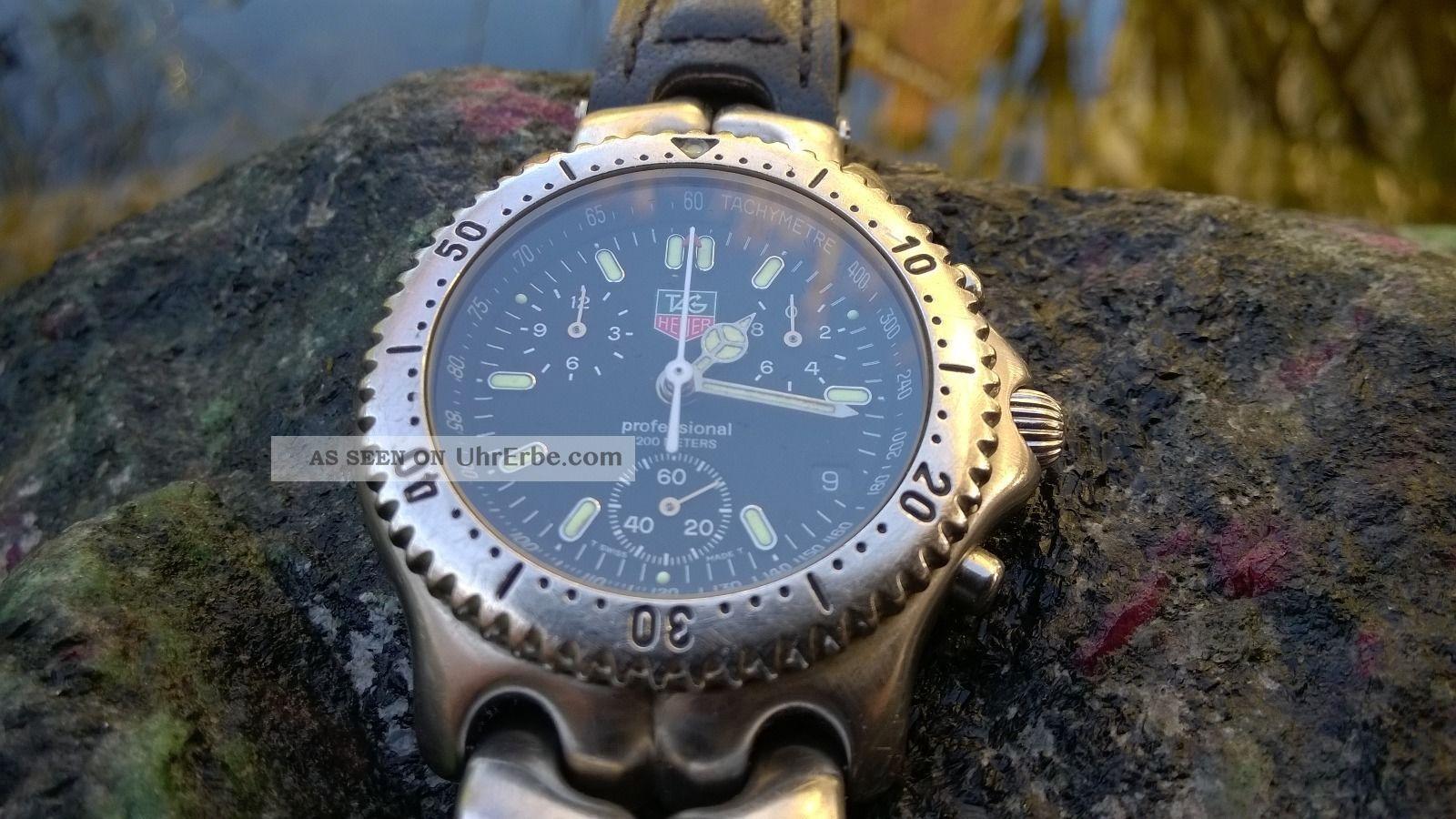 Tag Heuer - Men´s Professioal Sel Chronograph - Cg 1110 - 0 Armbanduhren Bild