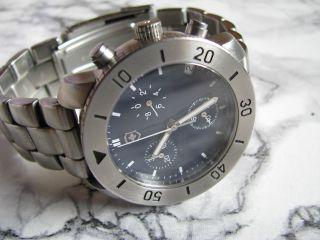Victorinox Chronograph Herren - Armbanduhr Mit Datumsanzeige Swiss Made Bild