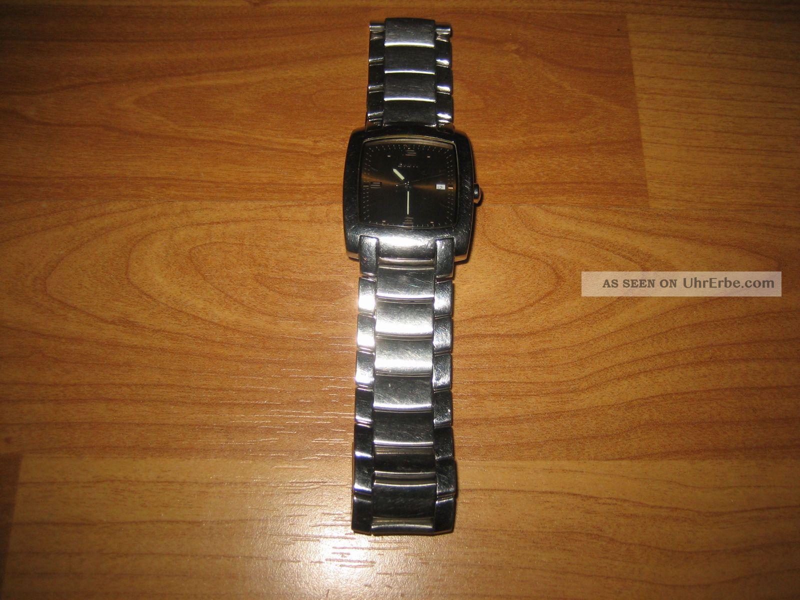Dkny Herrenquarzuhr,  Nicht Geprüft,  Gehäuse Und Armband Edelstahl,  Ny 1093 Armbanduhren Bild