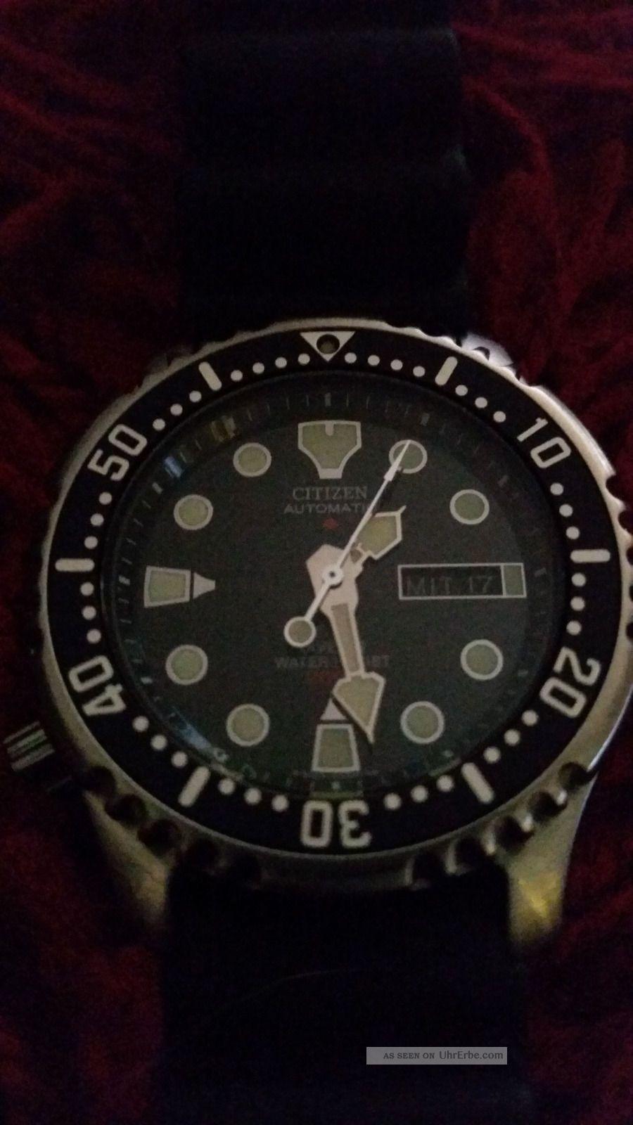 Citizen Promaster Automatic Marine Armbanduhr Für Herren. Armbanduhren Bild