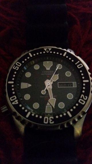 Citizen Promaster Automatic Marine Armbanduhr Für Herren. Bild