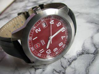 Victorinox Swiss Army Herren - Armbanduhr Mit Datumsanzeige Swiss Made Bild