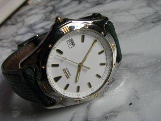 Seiko 7n47 Herren - Armbanduhr Mit Datumsanzeige Und Quarzwerk Bild