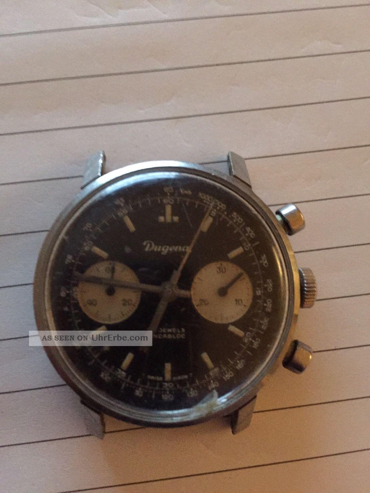 Dugena Chronograph Armbanduhren Bild