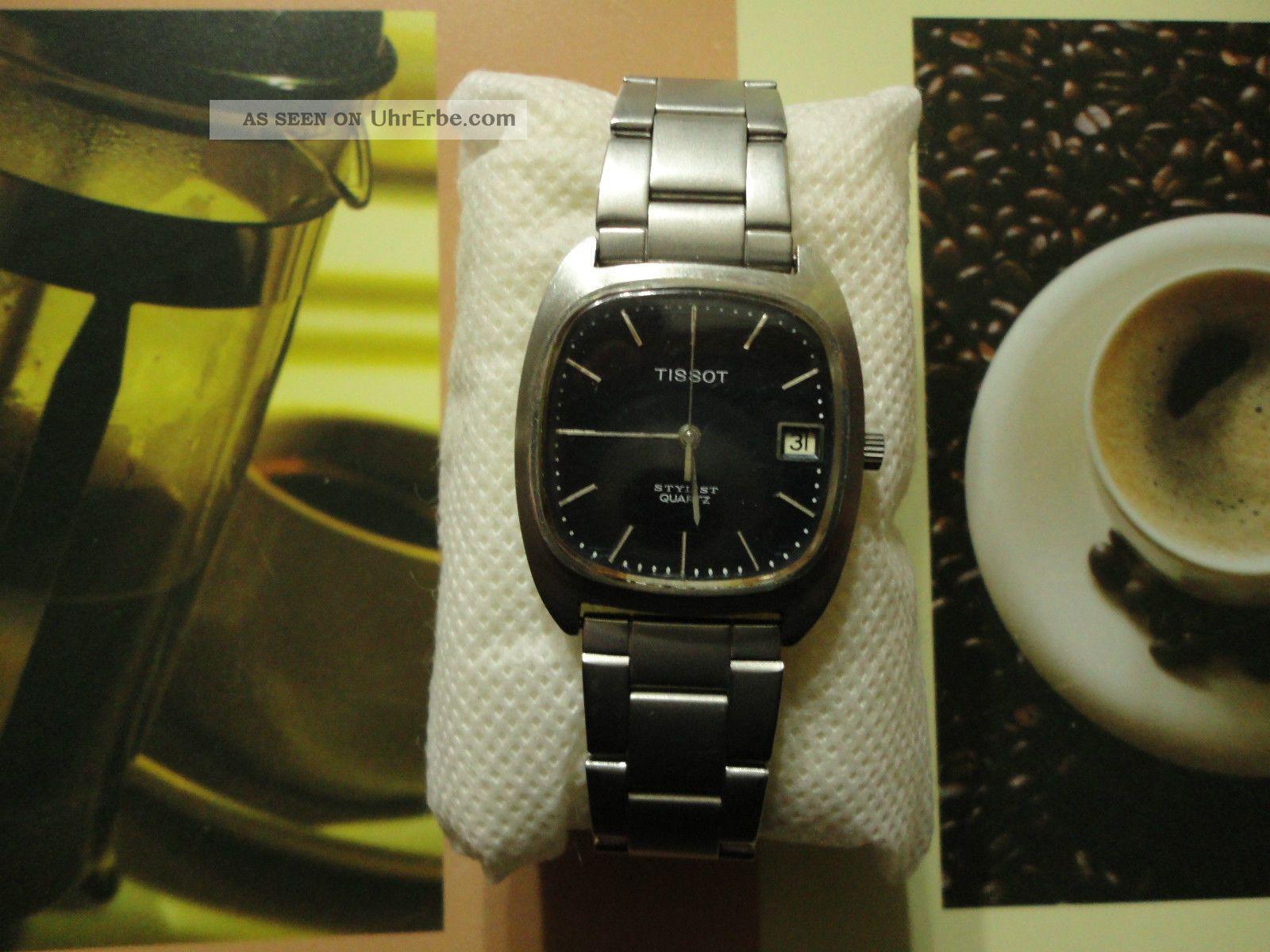 Tissot Stylist,  Herren Armbanduhr,  Edelstahl,  Quartz. Armbanduhren Bild