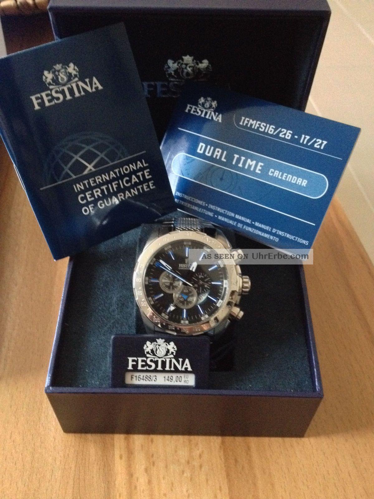 Festina Sport F16488/3 Armbanduhr Für Herren Armbanduhren Bild