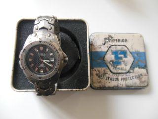 Fossil Armbanduhr Herrenarmbanduhr Titanium Ti - 5019 Bild