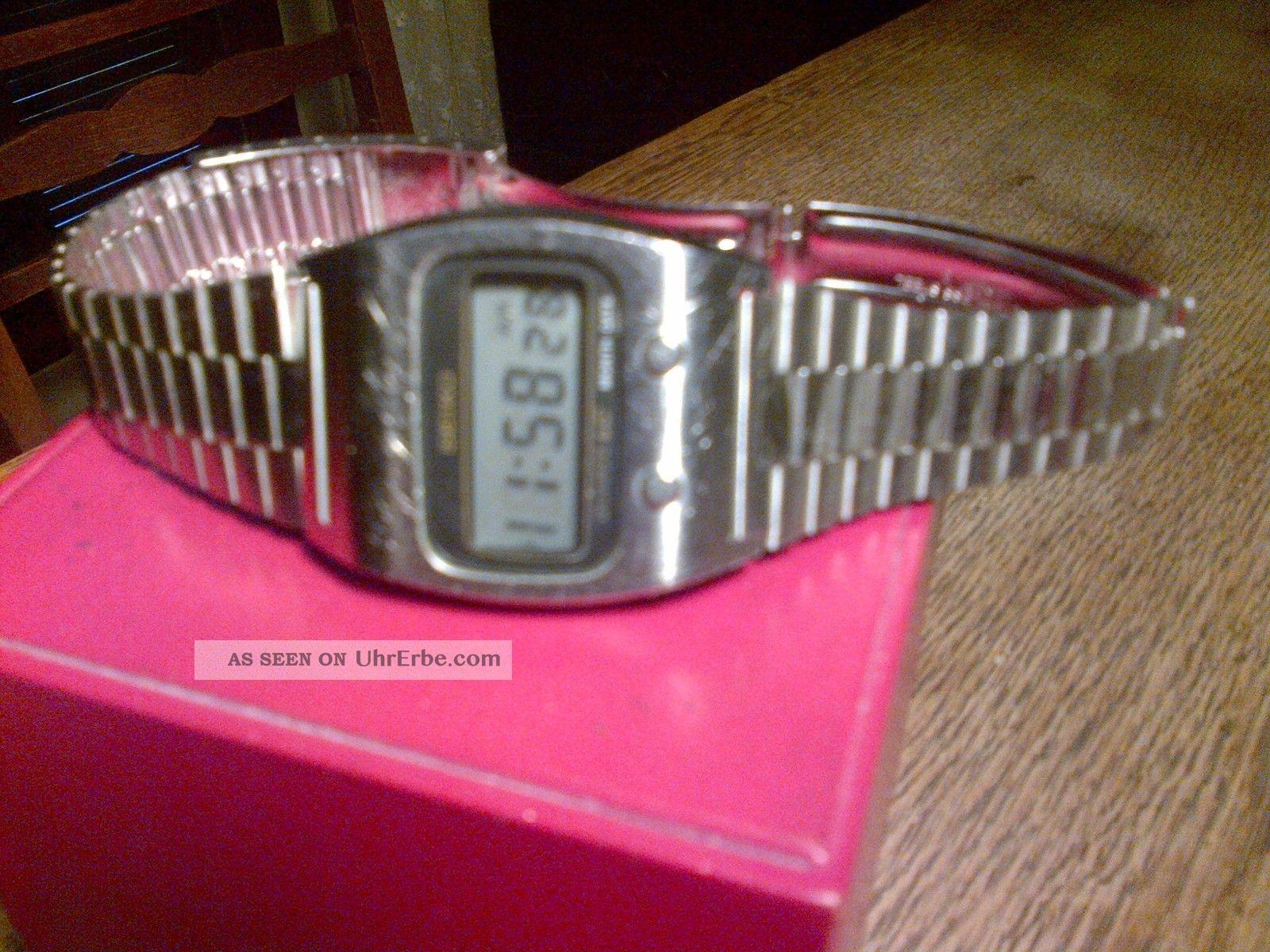 Seiko Digital Quartz Herren - Lcd Uhr Aus Den 70ern /vintage Seiko Lcd Men ' S Watch Armbanduhren Bild