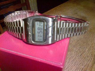 Seiko Digital Quartz Herren - Lcd Uhr Aus Den 70ern /vintage Seiko Lcd Men ' S Watch Bild