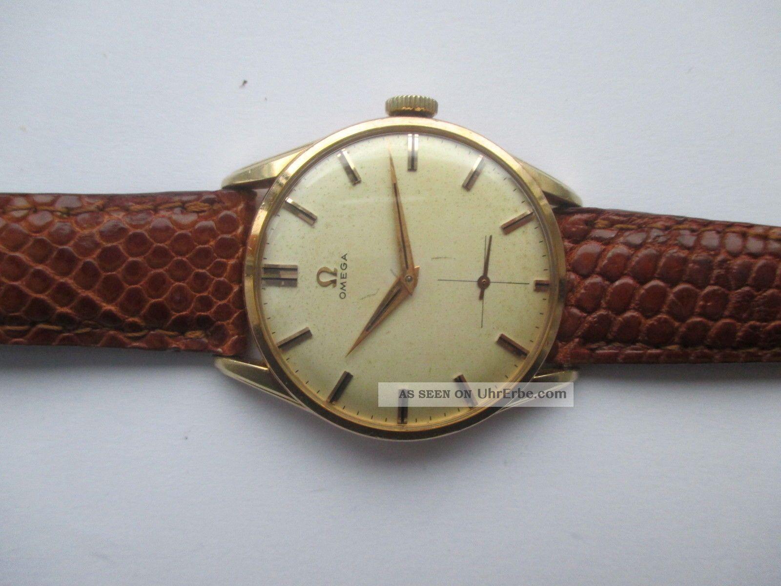 Vintage Omega Handaufzug Cal.  267 Ca 50 Er Jahre Armbanduhren Bild