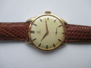 Vintage Omega Handaufzug Cal.  267 Ca 50 Er Jahre Bild
