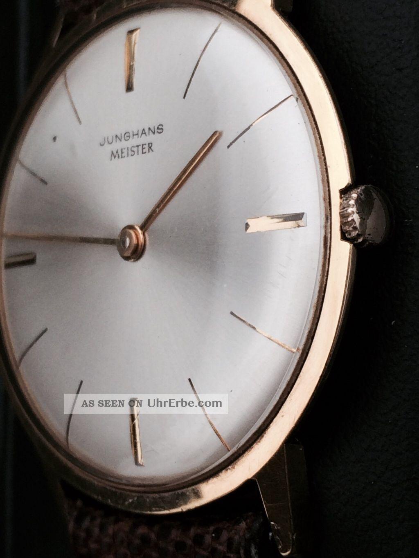 Junghans Meister Ca.  1965,  Kaliber 684,  Max Bill - Bauhaus,  Fast Nos - Armbanduhren Bild