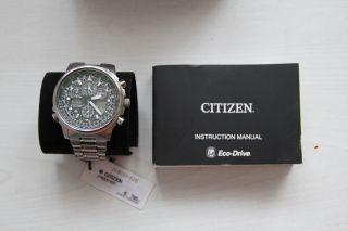 Citizen Eco - Drive Skyhawk Herren - Funkchronograph Bild