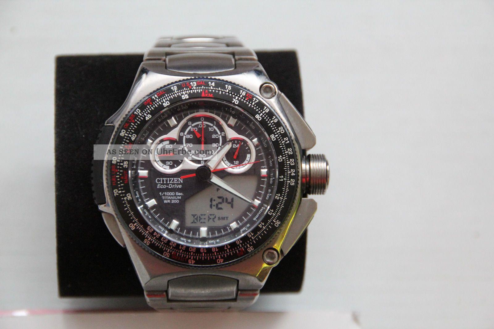 Citizen Eco - Drive Ctz - B8132 Armbanduhren Bild