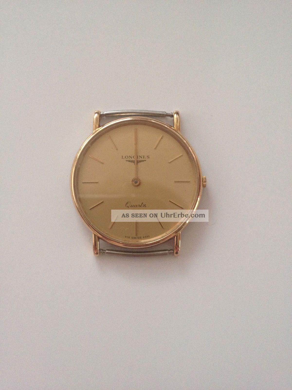 Longines La Grande Classique Quartz 90er Jahre Vergoldet Armbanduhren Bild