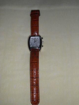 Herrenuhr Herren Armbanduhr Uhr Lederarmband Mercedes Benz Bild