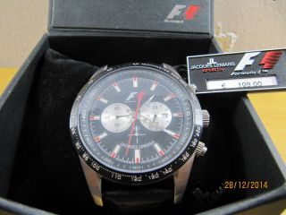 Jacques Lemans Formel 1 Retro Xxl 5018 Herren Armbanduhr Uhr Selten Top Bild