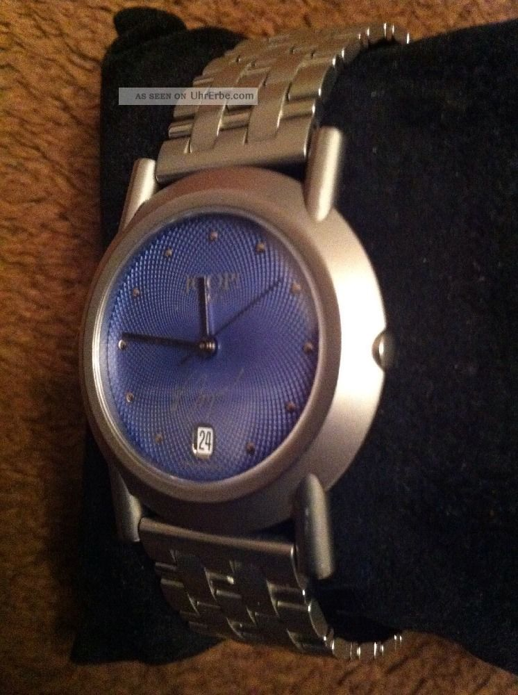 Herren Armbanduhr Joop / Junghans - Quarz - Limited Edition 139/500 Armbanduhren Bild