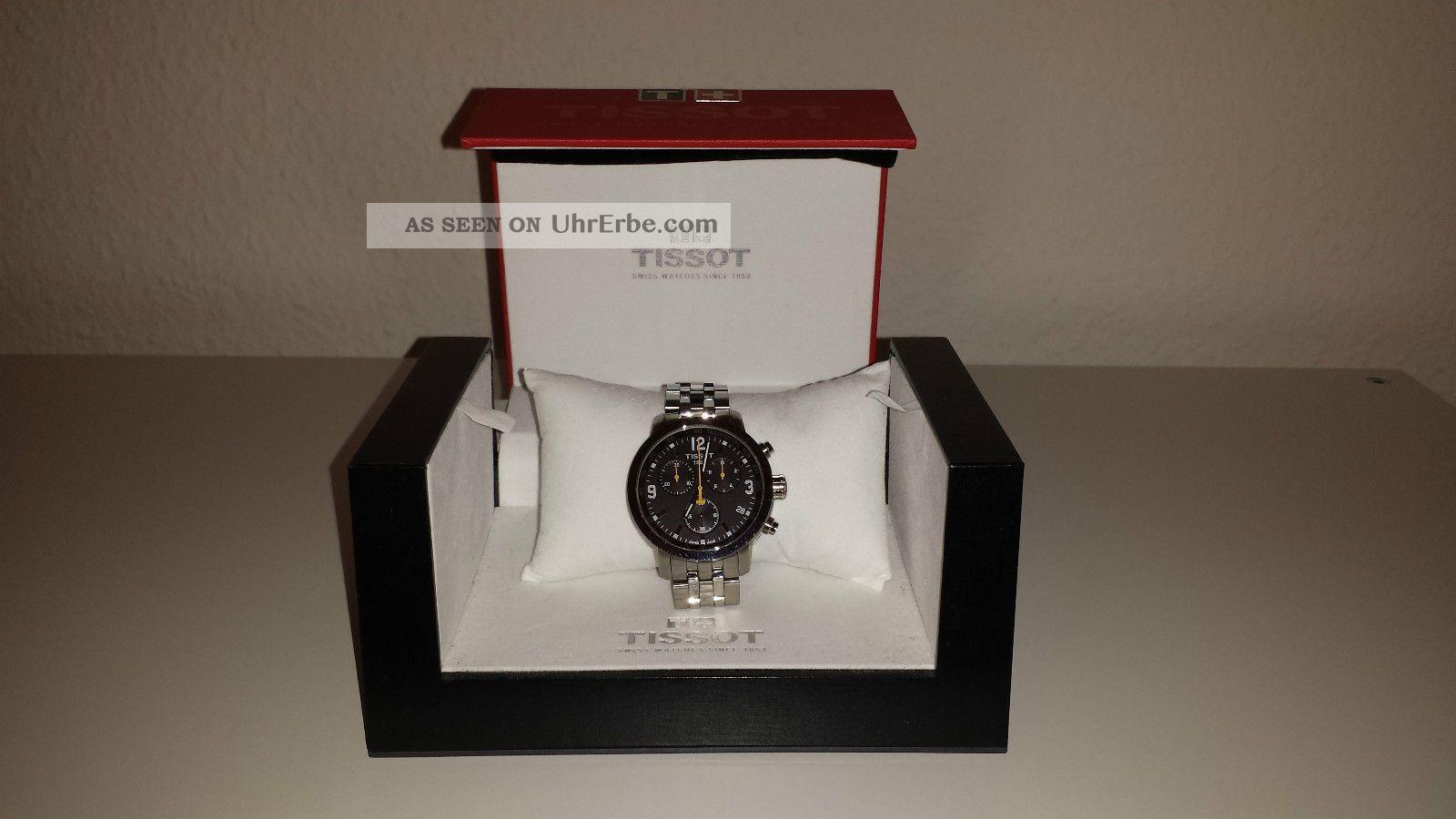 Tissot Prc200 Chronograph T055.  417.  11.  057.  00 Armbanduhren Bild
