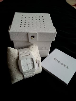 Diesel Dz1421 Keramikuhr Armbanduhr Bild