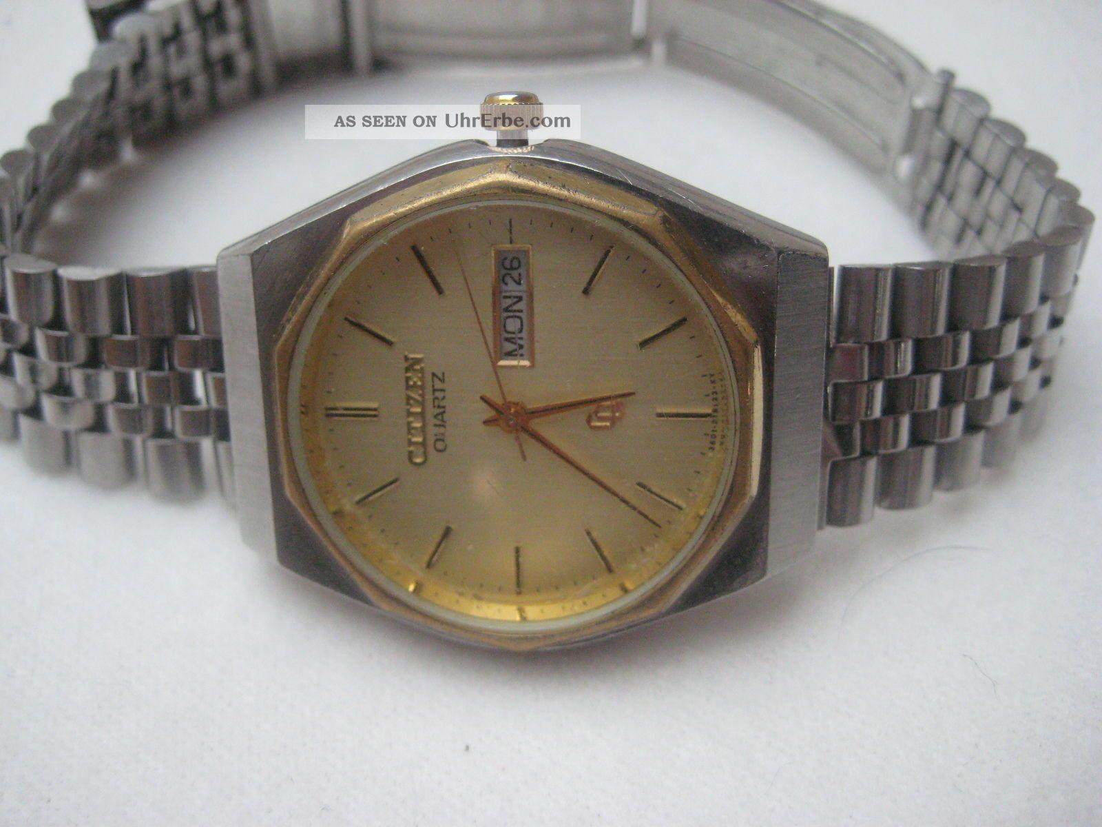 Herrn Armbanduhr Citizen Quarz Armbanduhren Bild