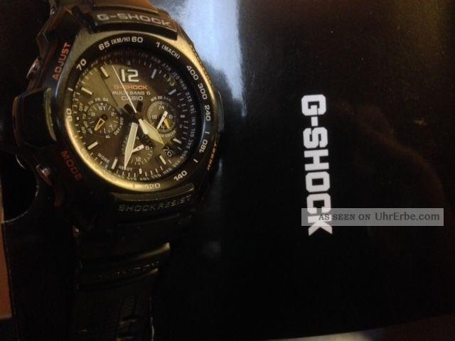 Casio G - Shock Solar - Funk Armbanduhr Für Herren Armbanduhren Bild