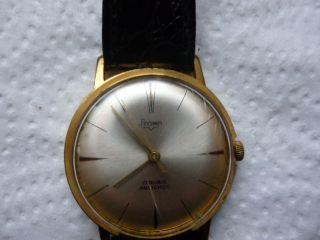 Armbanduhr Aus Papas Sammlung Nr.  18 Stowa 17 Rubis Funktion Mindes 24 Std. Bild