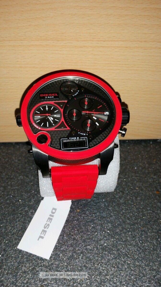 Diesel Herrenarmbanduhr Dz7279,  Nagelneu,  Unbenutzt Mit Etikett Armbanduhren Bild