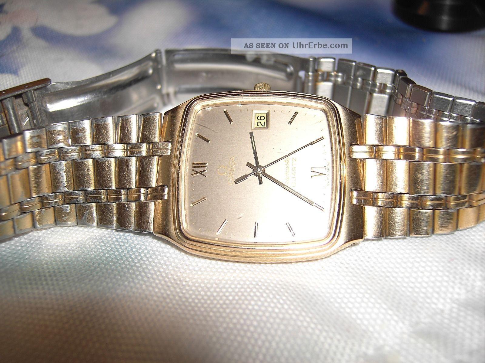 Ich Biete Hier Eine Sehr Schöne Omega Herren Armbanduhr An. Armbanduhren Bild
