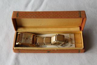 Umf Ruhla 15 Rubis Herrenuhr Armbanduhr Handaufzug Mechanisch Bild