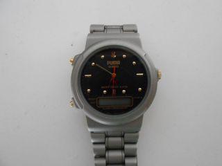 Puma Quartz Uhr Im Retro Style Bild