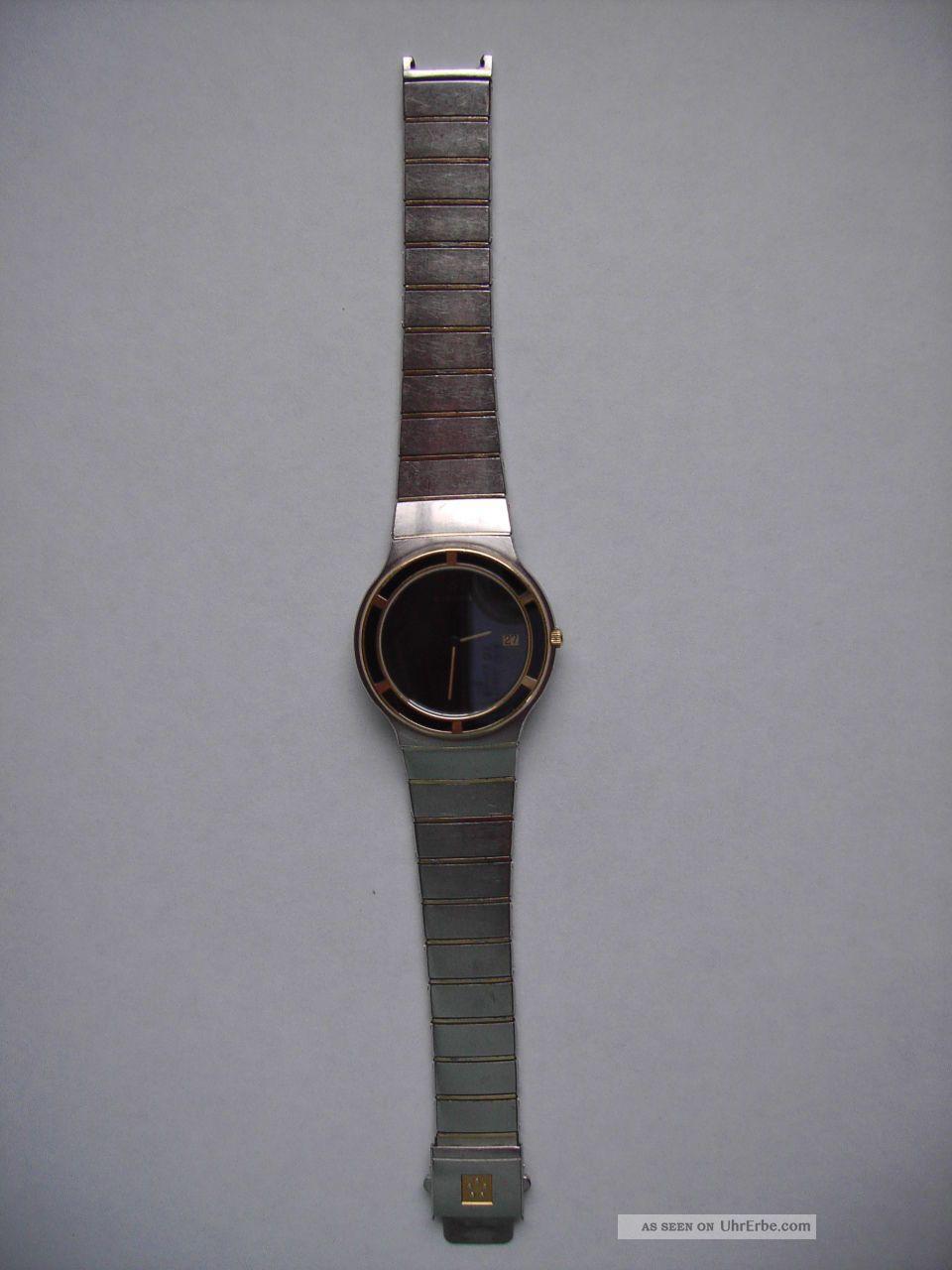Exclusive Herren - Armbanduhr,  Eterna Galaxy,  Edelstahl Armbanduhren Bild
