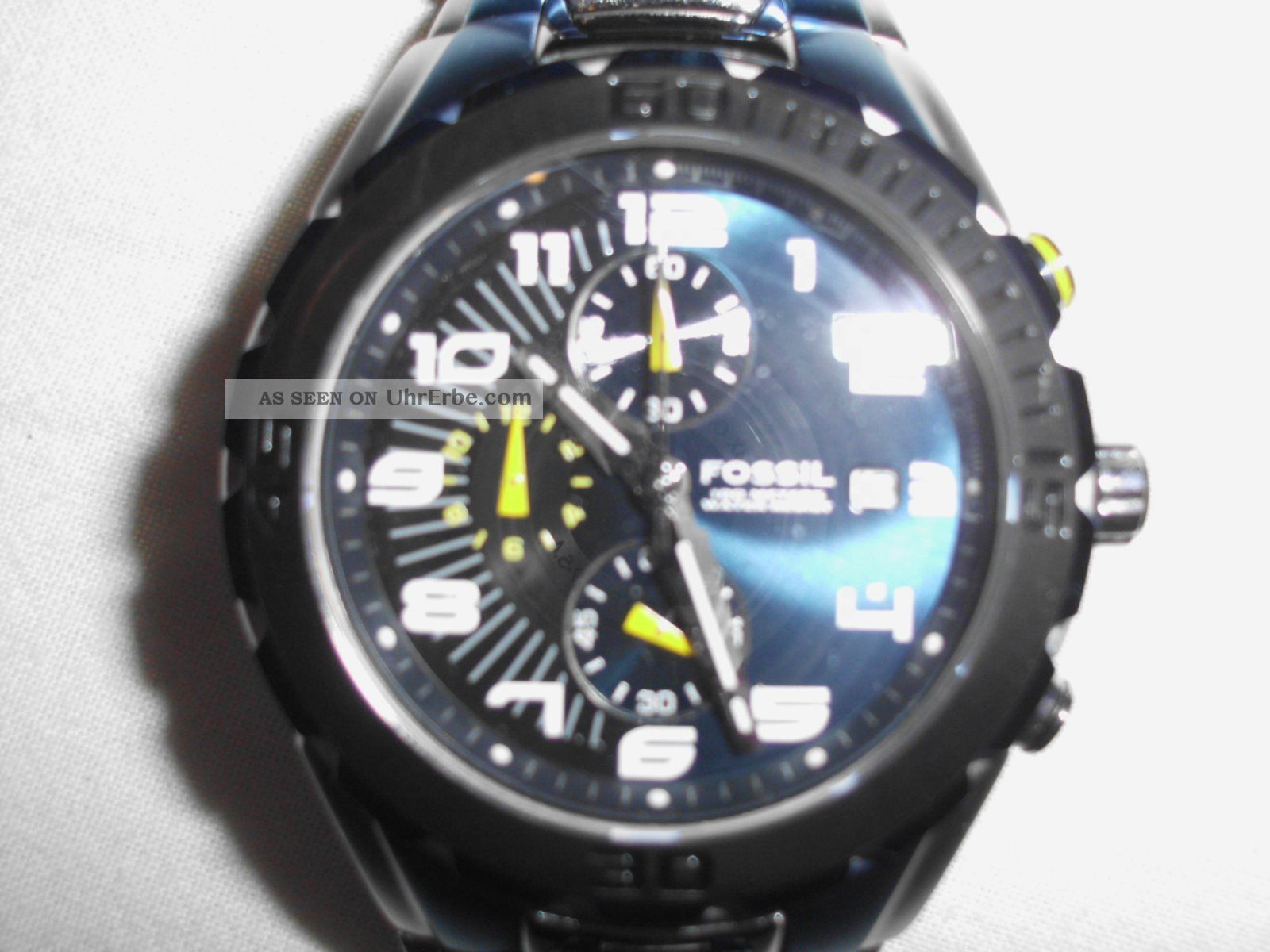 Fossil Blue Ch - 2471 - 340701 Herren Uhr Armbanduhren Bild