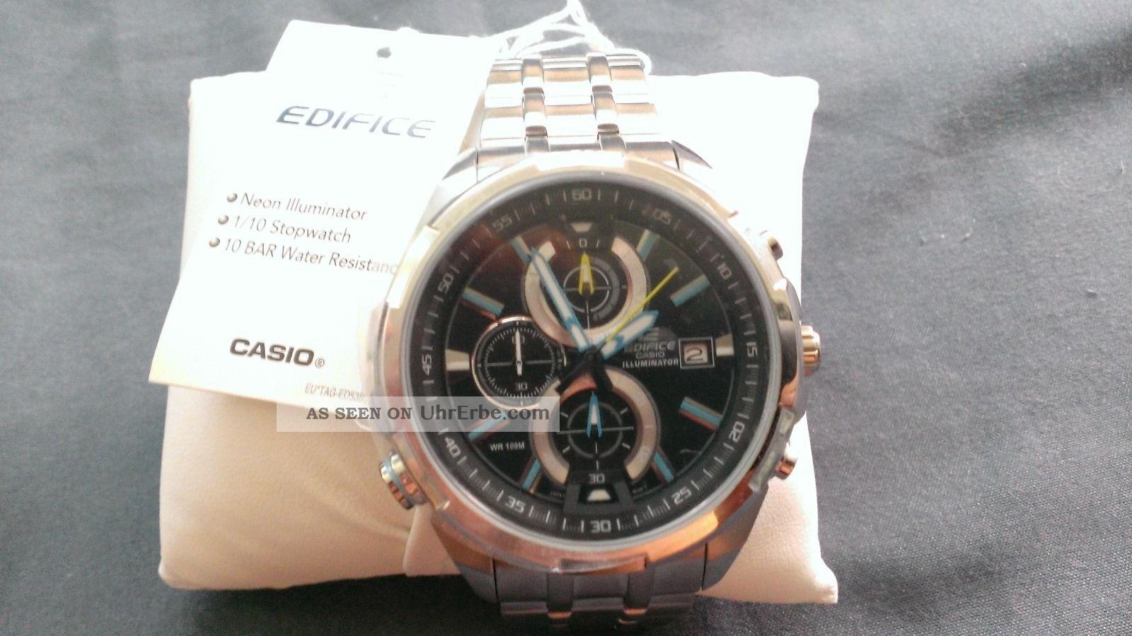 Casio Edifice Armbanduhren Bild