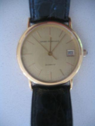 Girard Perregaux 18k (0,  750) Gelbgold Herrenuhr Bild