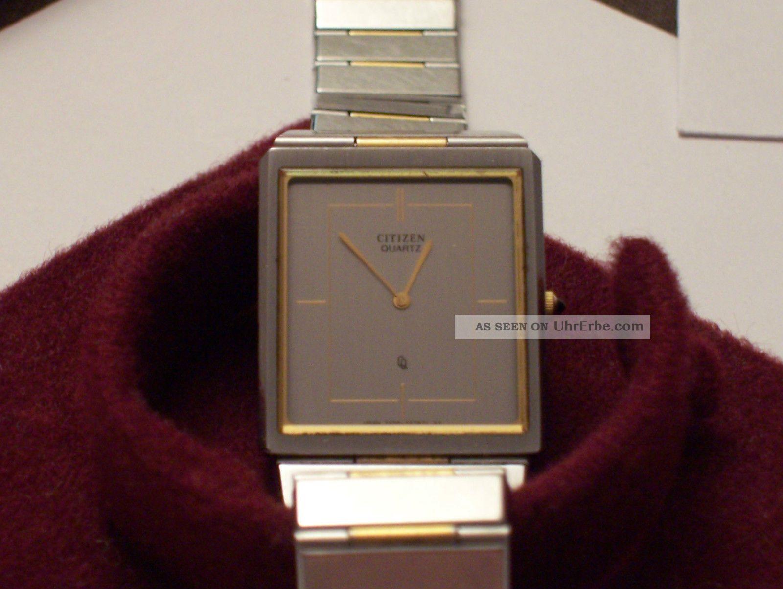 Wow Herren Quartz Uhr Von Citizen (sammlerstück) Armbanduhren Bild