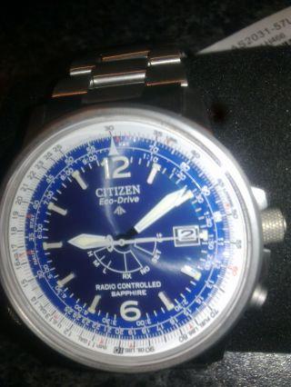 Citizen Herren Funkuhr Voll Titan As2031 - 57 L Bild