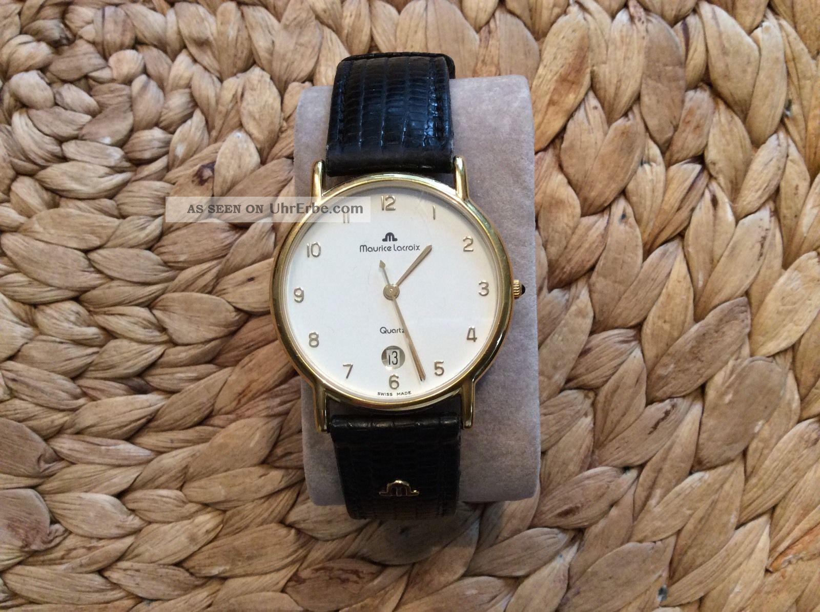 Maurice Lacroix Herrenuhr Kellerfund Armbanduhren Bild