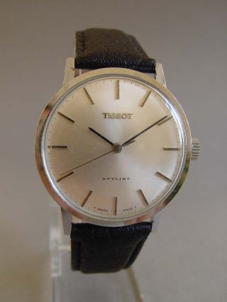 Tissot Stylist Herrenuhr Ca.  1970,  Läuft Gut Bild