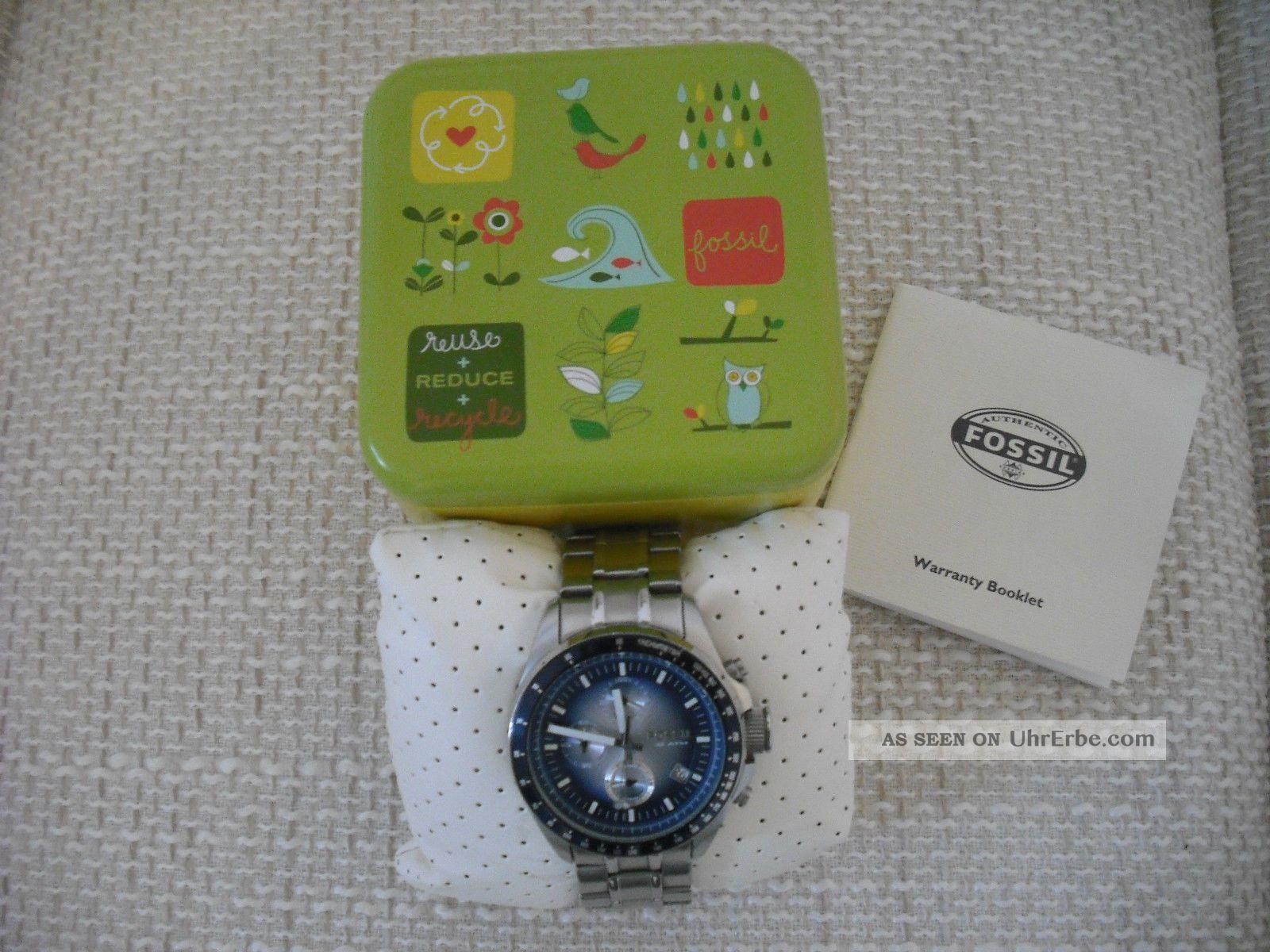 Fossil Decker Armbanduhr Für Herren (ch2589) Armbanduhren Bild