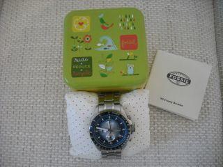 Fossil Decker Armbanduhr Für Herren (ch2589) Bild